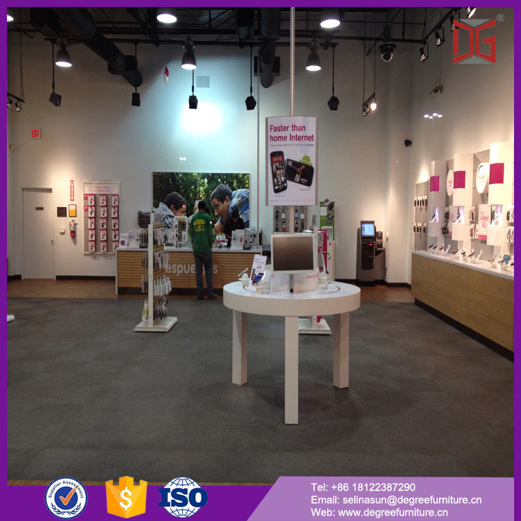 fashion mobile phone shop interior furniture design for mobile shop