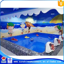 childrens indoor swimming pool play equipment