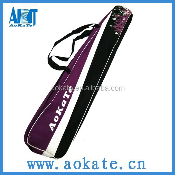 colorful longboard skateboard carry bag for skiing