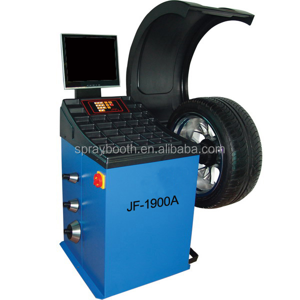 JF hot sale!!! wheel balancer tyre balancing machine motorcycle wheel balancer price