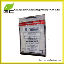 Waterproof tamper evident bags/Cash bags for banking/High security plastic bags