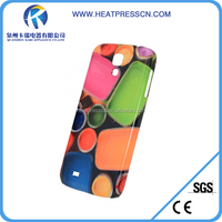 3D sublimation phone case for samsung S4 9500