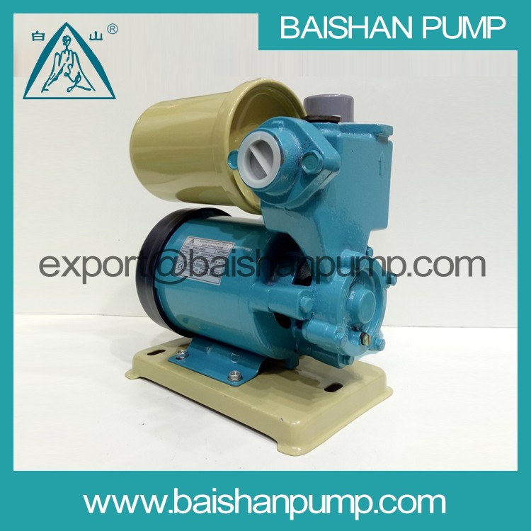 Aluminum material pump body automatic cold or hot water self priming pump control