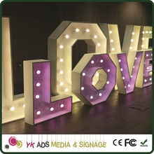 marquee sign letters advertising front light acrylic 3d led channel letterlighted restroom signs