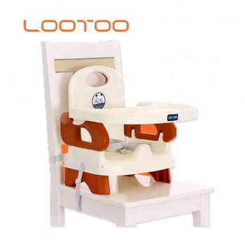 Lightweight low price travel system baby kids eating eating dinner food plastic chair on chair