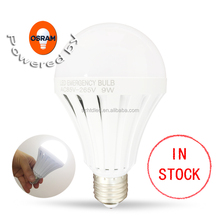 E27 Energy Saving Intelligent Emergency Rechargeable Lamps LED Bulb 5/7/9/12W