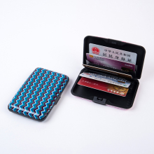 Licheng BXK06 Business Credit Card Holder Case, Unique Metal Name Card Holder