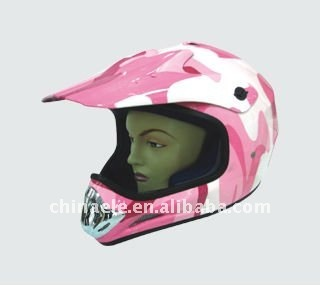 ATV helmet decals