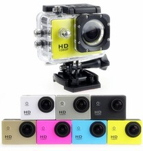 Outdoor Mini Action Camera Waterproof Full HD 1080 P Sport DV Video Camera