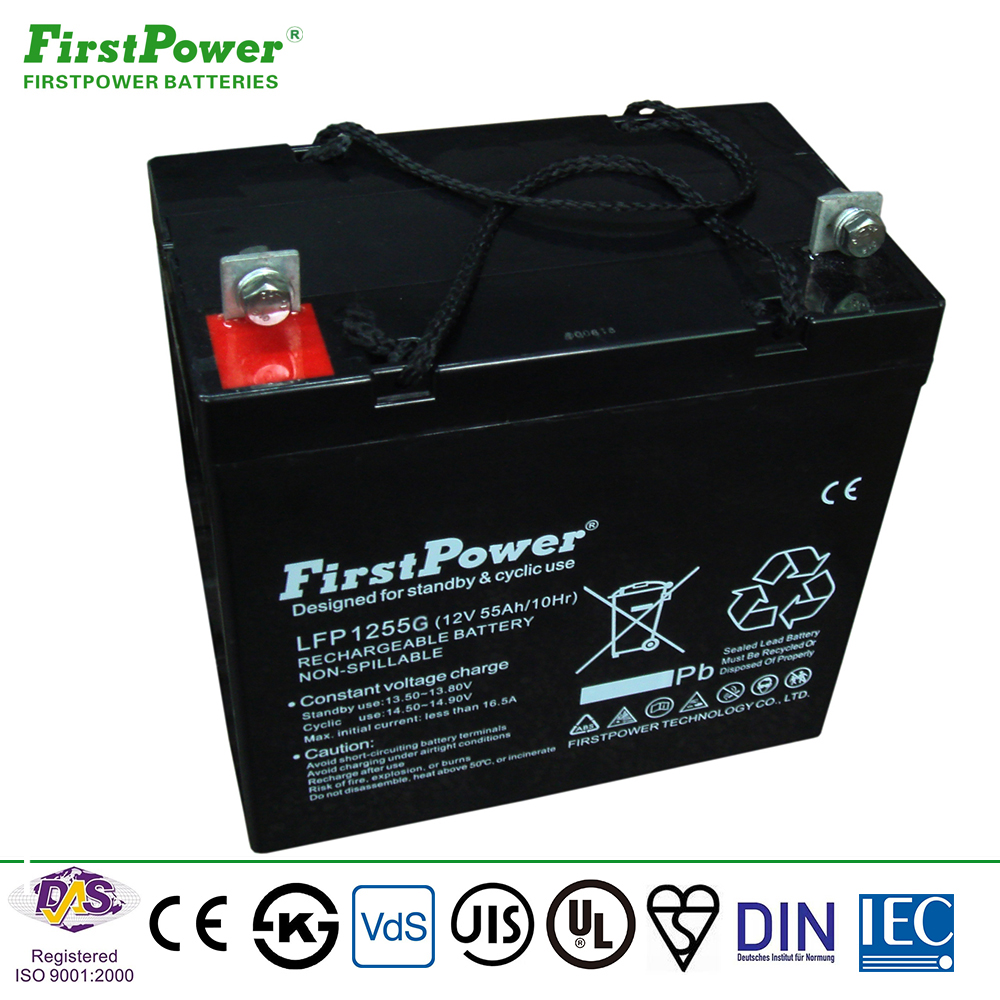 Manufacturer Alibaba Hot Sale Gel <strong>Battery</strong> 12v 55ah for Solar System