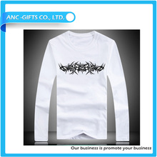 all over printing raglan tight fit casual wear high quality fashion design long sleeve tshirt