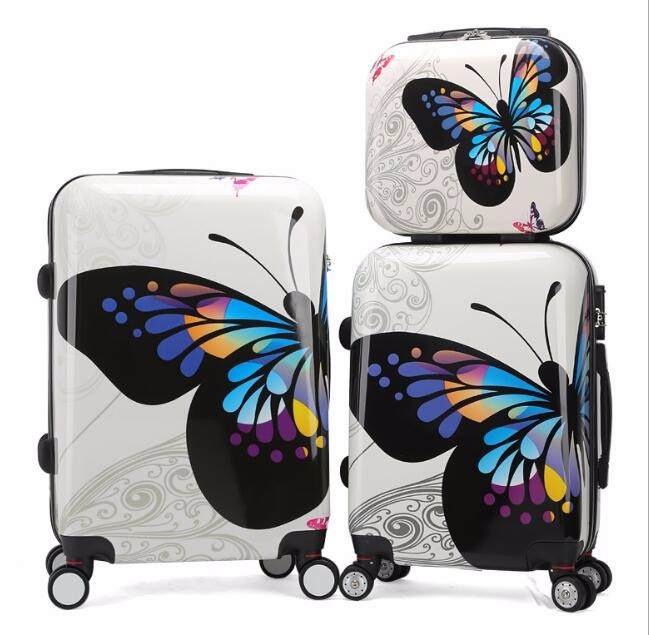 Hard Shell Travel Trolley Luggage set