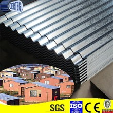 G550 Zinc Coated Corrugated Galvanized Sheet Roofing For Africa Market Roof Sheet