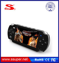 handheld video game player 4.3 inch with mp3 mp4 player thousands of games built-in