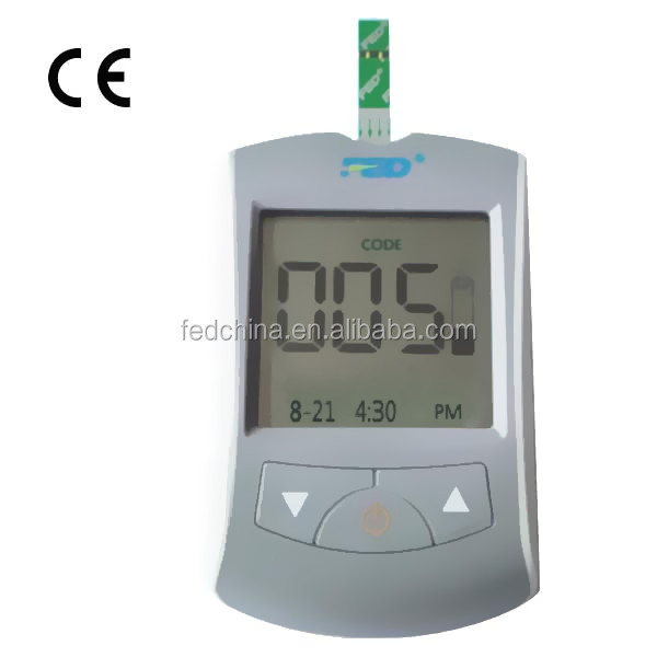 Accurate Digital Blood Sugar Monitor with CE Certificate