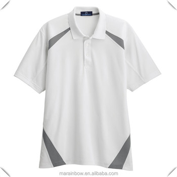 Dri fit 100 polyester golf shirts mens contrast colors for Mens dri fit polo shirts wholesale