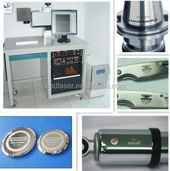 Synthesized Technical 50W Laptop Keypod Diode Laser Marking Machine for Metal (Hot Sales)