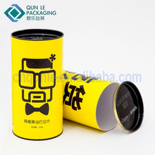 Cylinder Shape Custom Printed Promotional Sunglasses Paper Gift Packing Box