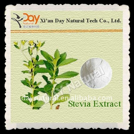 Factory price supply Stevia Leaf P.E.--Steviol Glycoside 80%-95% HPLC