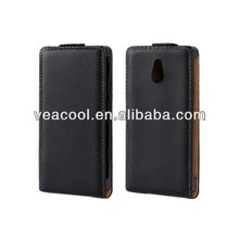 Flip Real Leather Case Cover for Sony Xperia P LT22i Case