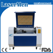 New design cnc co2 laser engraving machine for acrylic wood with 60w power