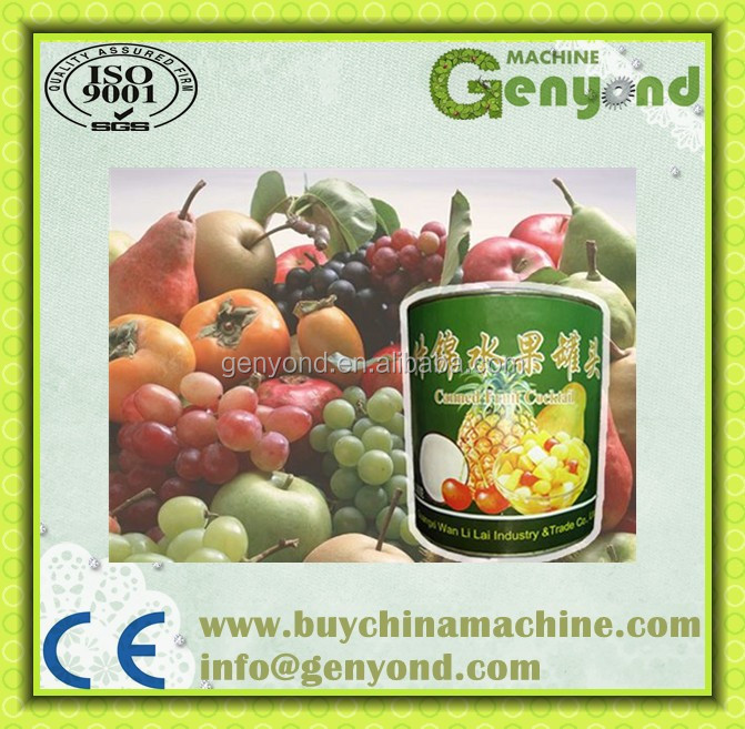 complete canned fruit food Canning /canning processing machine/line
