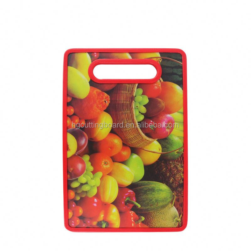 New Design toughened durable function pp thick chopping board