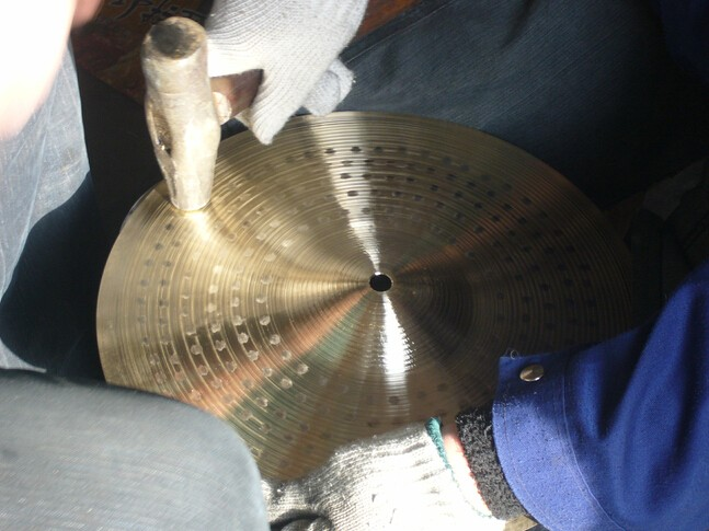 Chang STU Series Brass Cymbal for drum percussion