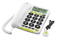 amplified telephone with remote answer machine