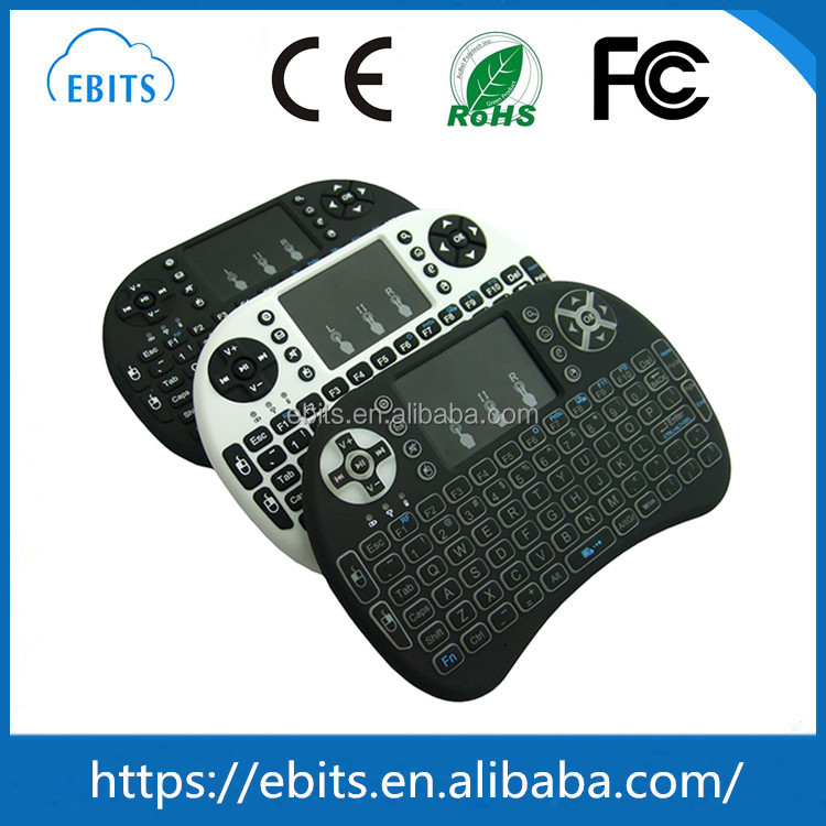 2.4G Mini Wireless Fly Air Mouse Keyboard With IR Remote