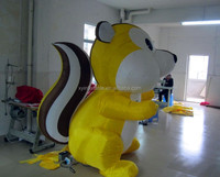 advertising custom animals giant inflatable squirrel for sale