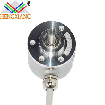 Rope wire encoder in dc motor 10000ppr push-pull output