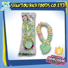 Fruit flavours Bracelet Press Candy Watch Bracelet Candy in jar