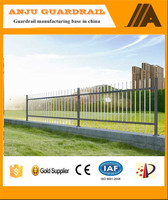 DK008 Low Price High Quality Wrought Iron fence, metal fence&steel fence
