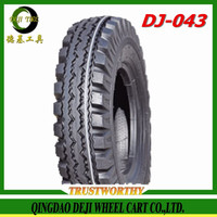 2016 New Qingdao DEJI factory motorcycle tire wholesale, three wheels motorcycle tire 4.00-8