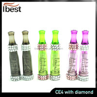 IBEST Wholesale High Quality E Cig CE4 Sex Image Atomizer CE4 With Diamond