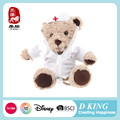 EN71 CE Approved Plush Toys Teddy Bear Doctor Bear
