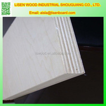 birch plywood 19mm /Oak faced/Bintangor faced 3/4 inches plywood