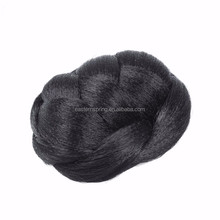 Factory price Best selling chignon hair pieces bun /hair bun with comb