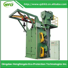 Wheel Blasting Machine with painting system for sheet and Beam