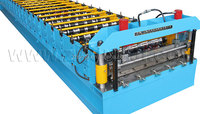 Zhongji Wall/Roof/Door Panel Roll Forming Machine with CE