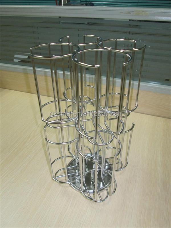 En acier inoxydable 64 dosettes de caf de rotation tassimo porte capsule p - Porte capsule tassimo ...