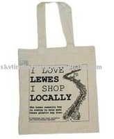 COTTON PRINTED ADVATISING GIFT PROMOTIONAL SHOPPING BAG