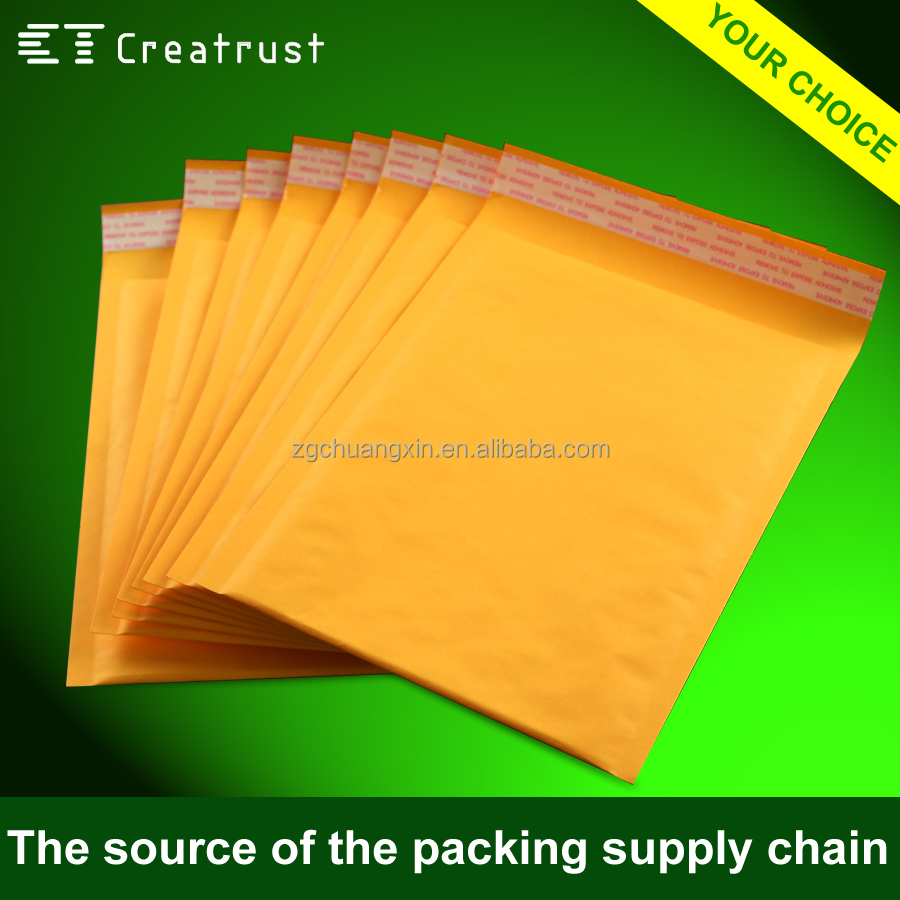 13 Years Specialized in Customized Kraft Jiffy Bag Packing for Phone Case