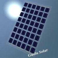 Low MOQ Great Performance BIPV Transparent Solar Panels CE Certified