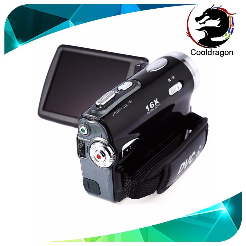 Cooldragon DV164 instant camera 20MP 720P big 3 inch LCD PAL NTSC DIS USB 2.0 digital camera