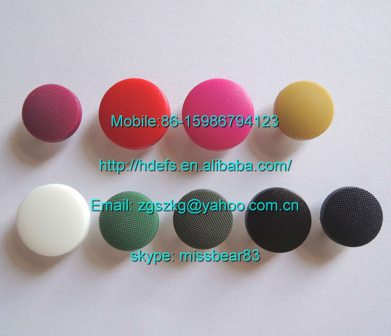 colorful cap brass material snap buttons for garment