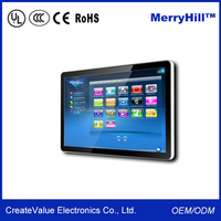 24 inch All in one PC Touch Screen, Android/Wins ,Quad core 1GB DDR3 8GB Nand, wifi, RJ45, Camera, VESA 100*100mm
