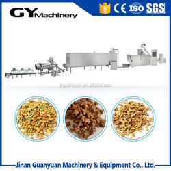 Low cost and good sell wet dog feed food making line in Jinan