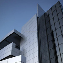 high gloss reputable aluminum composite panels aluminum building decorative wall covering cladding